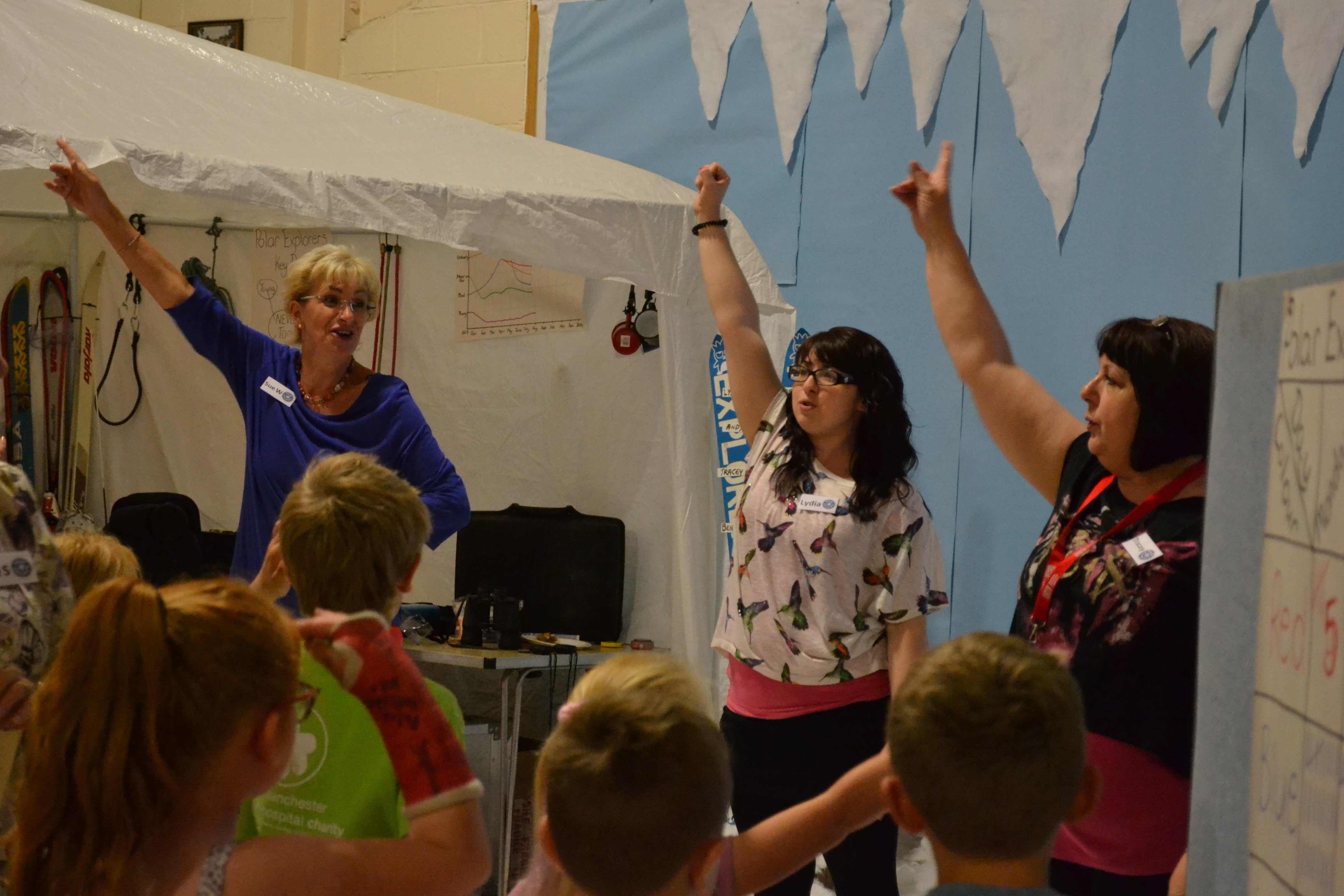 holiday club at  family life church thirsk