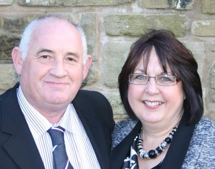 pastors Andy and Tracey Newlove at  family life church thirsk